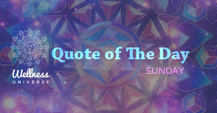 quote of the day sunday