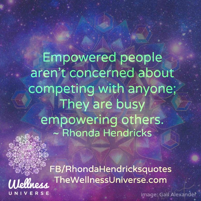 Empowering Quote of The Day Rhonda Hendricks
