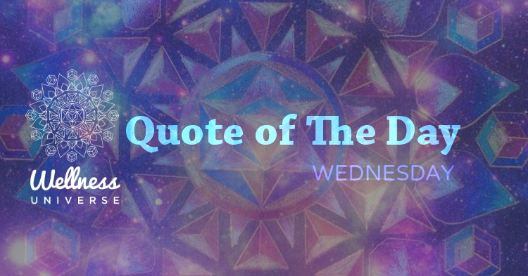 quote of the day wednesday