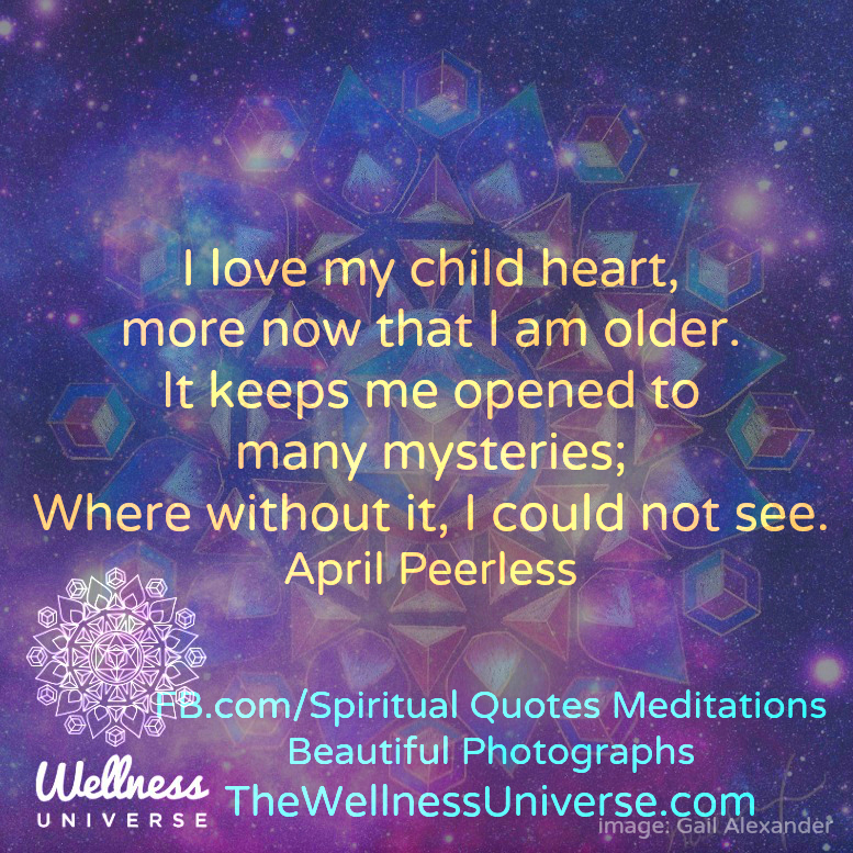 The Wellness Universe Quote Of The Day By April Peerless The Beauteous Spiritual Quote Of The Day