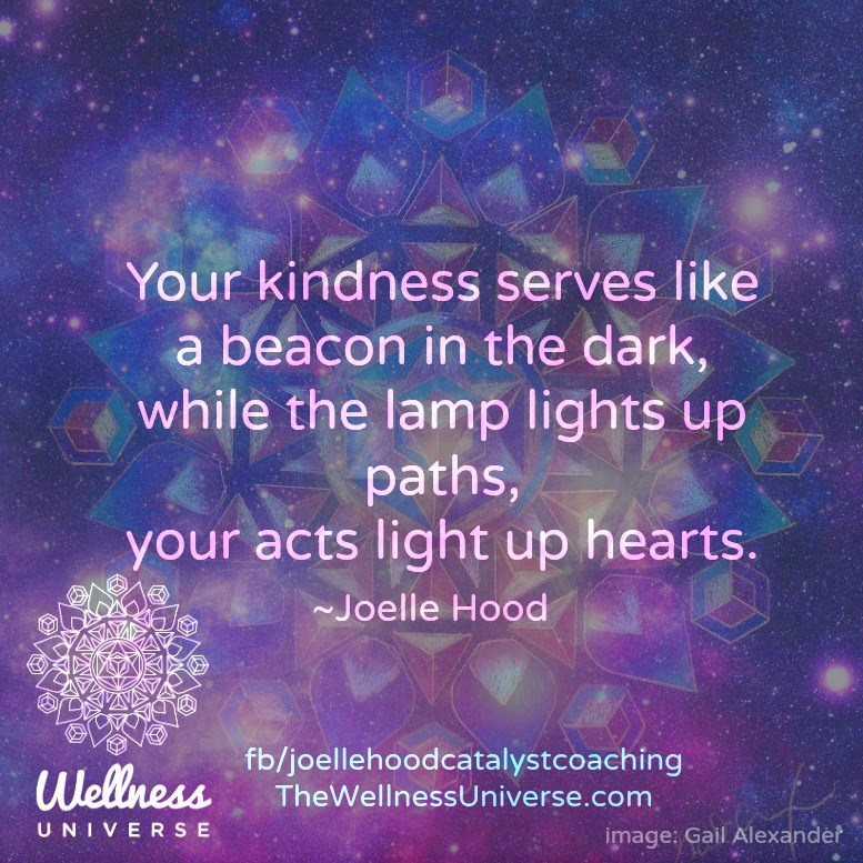 the wellness universe quote of the day by joelle hood