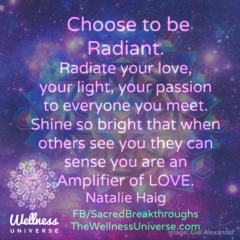 Image result for radiate love and light quotes