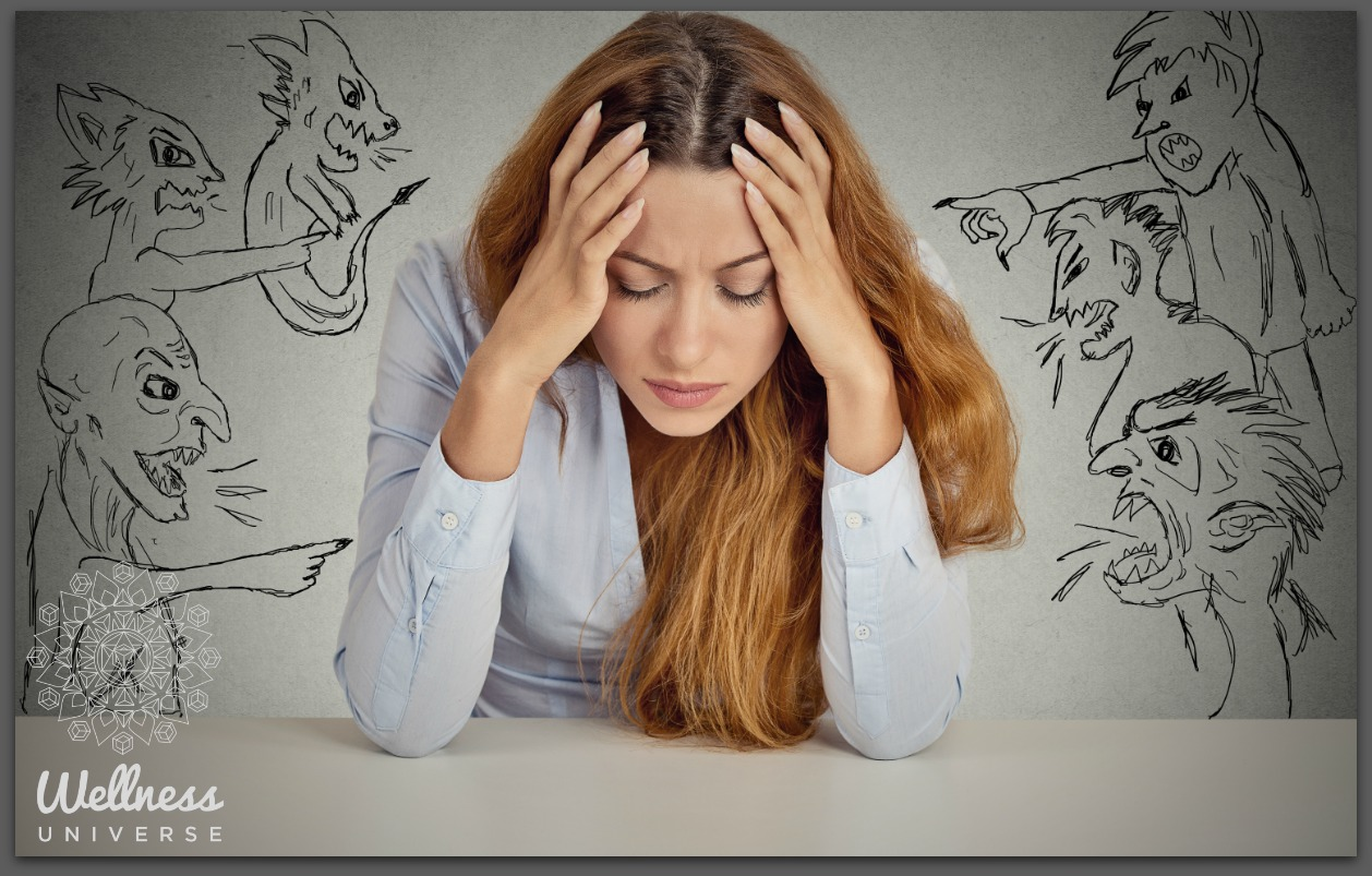 Hushing the Crazy Voice in My Head by Moira Hutchison #TheWellnessUniverse #WUVIP #CrazyVoice