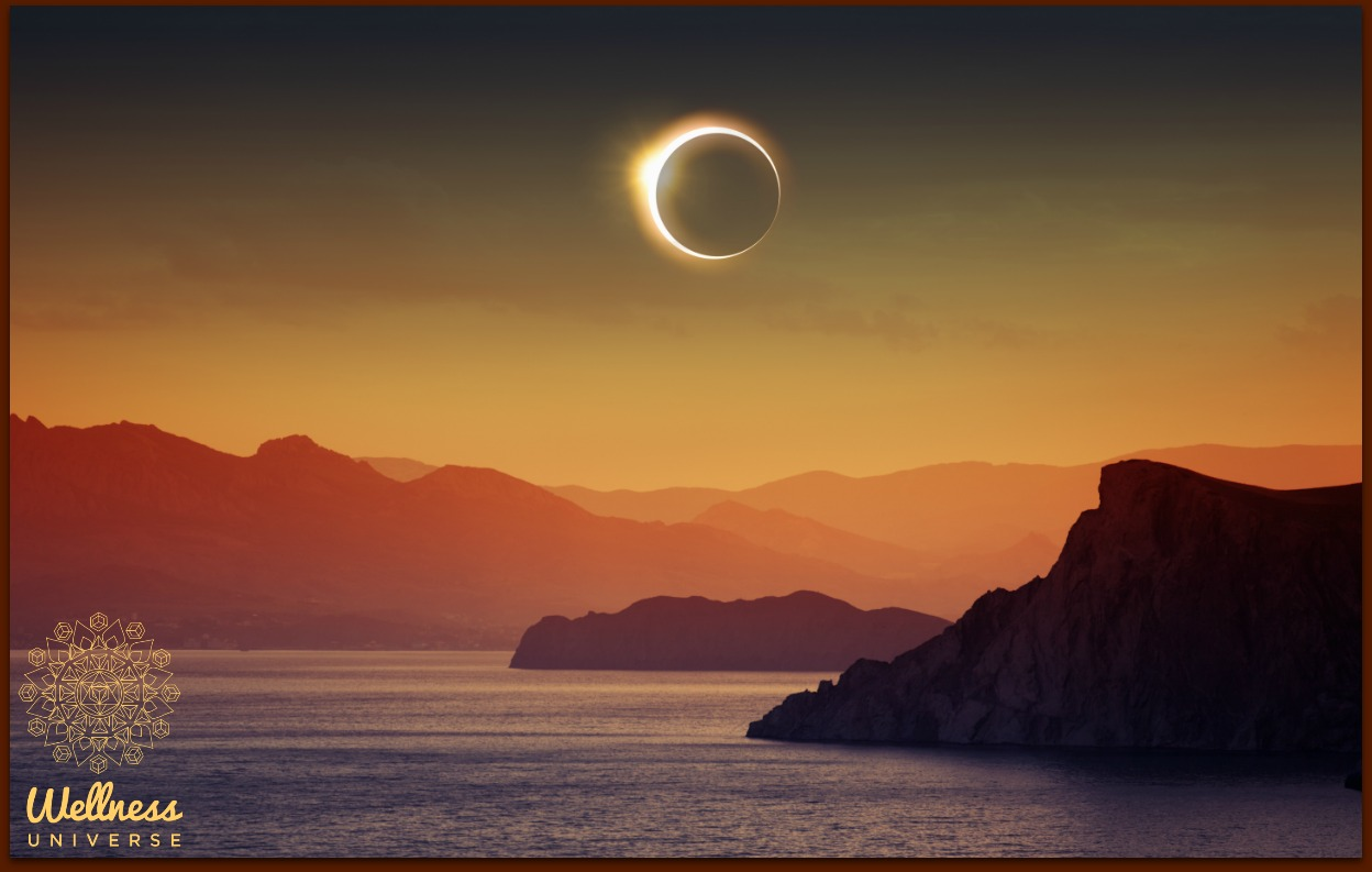 Total Solar Eclipse New Moon - August 21st, 2017 by Carol Pilkington #TheWellnessUniverse #WUVIP #TotalSolarEclipse