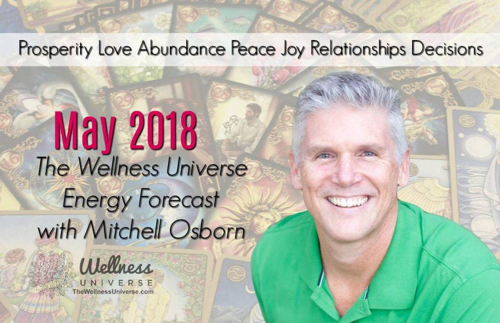 Energy Forecast for May 2018 with Mitchell Osborn #TheWellnessUniverse #WUVIP #ForecastforMay2018