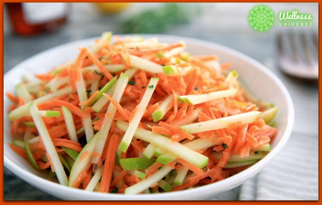 Kohlrabi Spring Salad Recipe by Rachel Kieffer #TheWellnessUniverse #WUVIP #Kohlrabi
