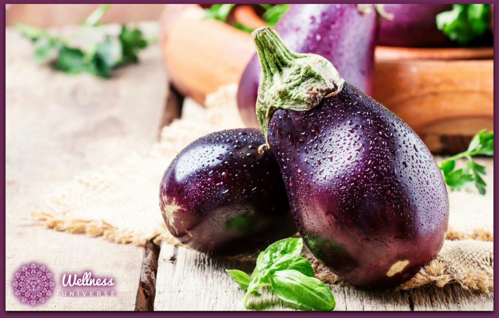 A Recipe for Happiness: Think Aubergines by Dr. Lynn Anderson #TheWellnessUniverse #WUVIP #Aubergines