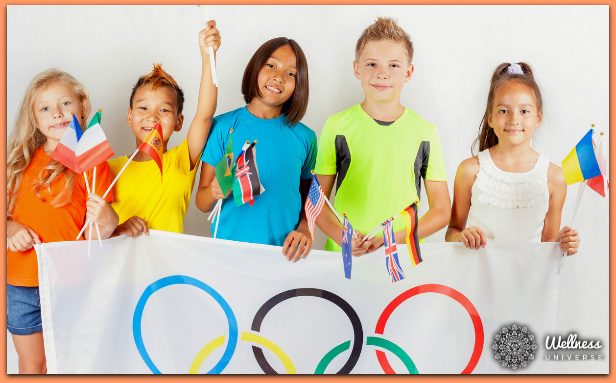 How to Stage Your Own Olympics for Kids by Gloria Rand #TheWellnessUniverse #WUVIP #Olympics