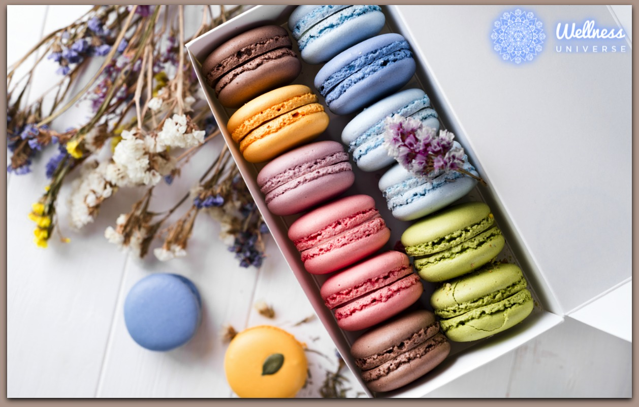 A Morsel of Delight Macarons by Dr. Lynn Anderson #TheWellnessUniverse #WUVIP #Macarons #Morsel