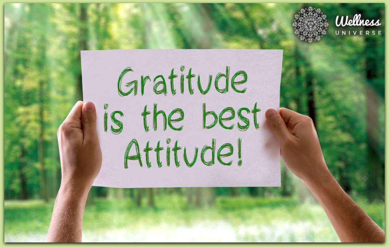 Cultivate An Attitude of Gratitude for Better Health by Cristina Smith #TheWellnessUniverse #WUVIP #AttitudeOfGratitude
