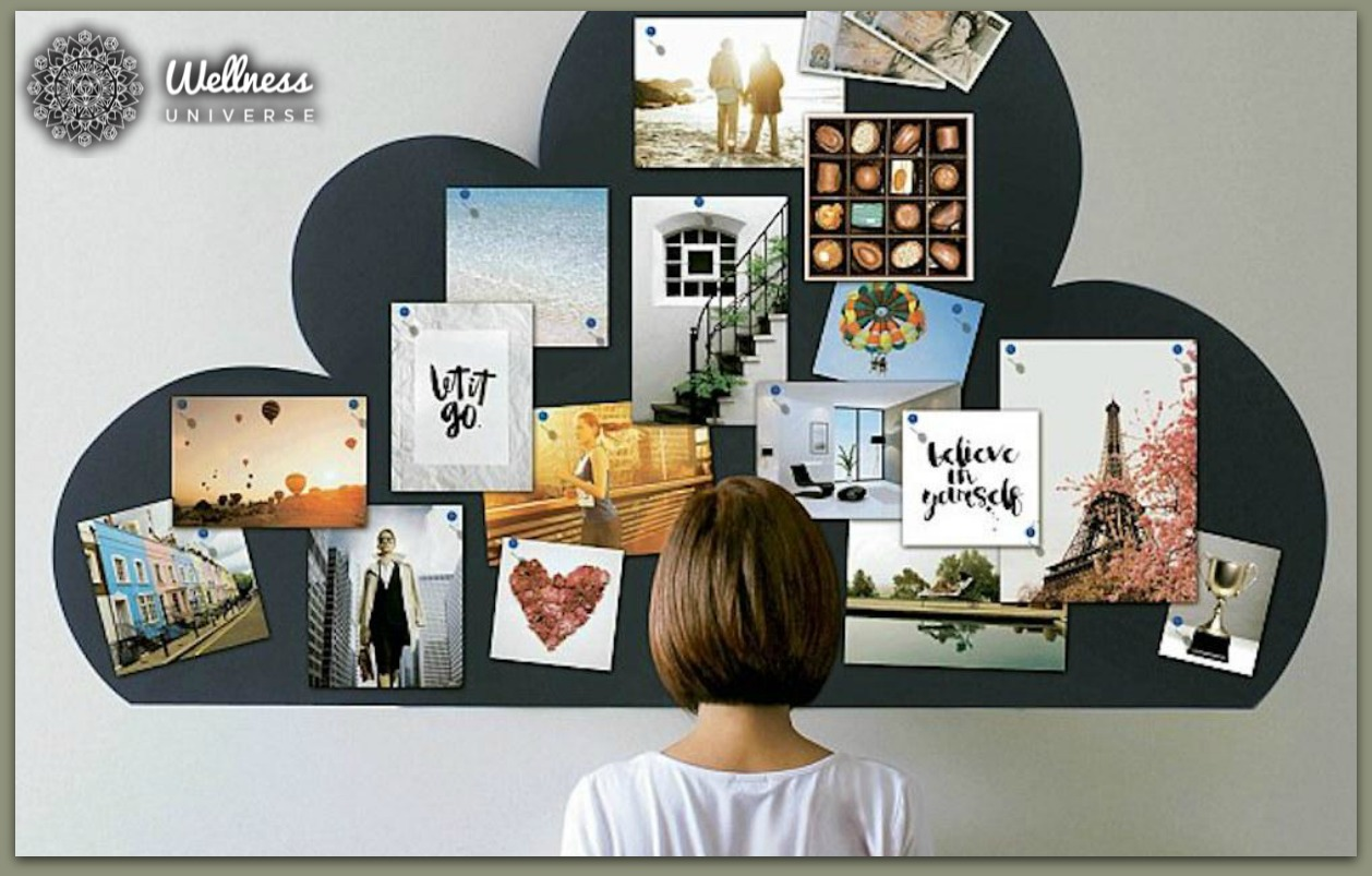 The 7 Elements Your Vision Board Needs by The Wellness Universe #WUVIP #TheWellnessUniverse #VisionBoard