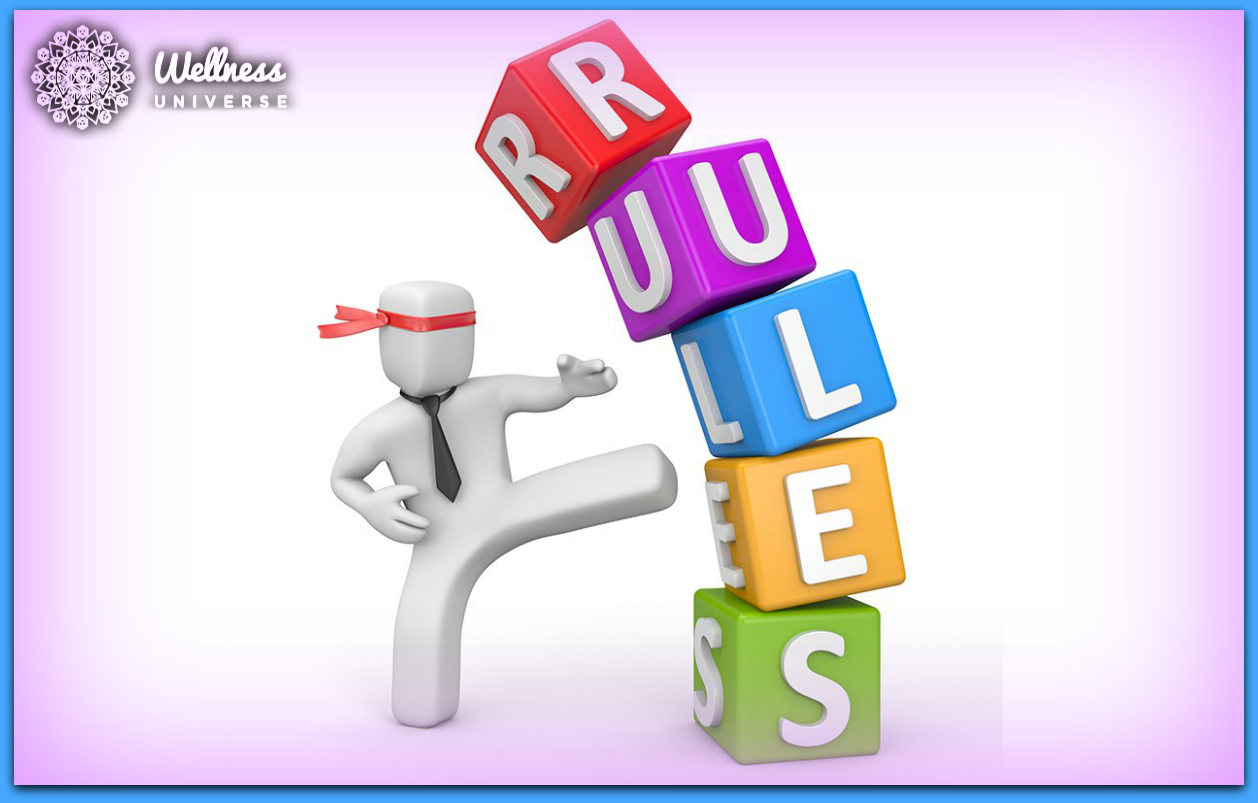 Do It Your Way: The Biggest Reason to Break the Rules by Laura Di Franco #TheWellnessUniverse #WUVIP #WUWorldChanger #BreakRules #Rules #YourWay