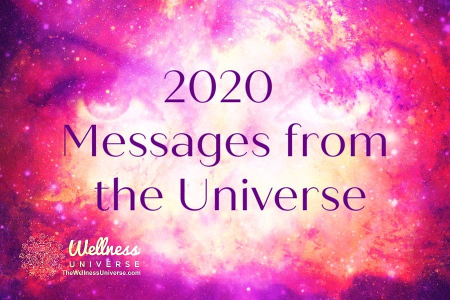 New Year, New Decade: Messages from the Universe